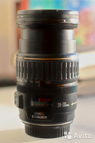 Объектив Canon EF 28-135mm f/3.5-5.6 IS 89098222567 купить 2