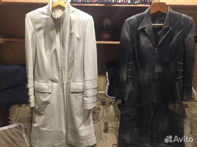 84d77d59902 Пальто натуральная кожа 2 штуки
