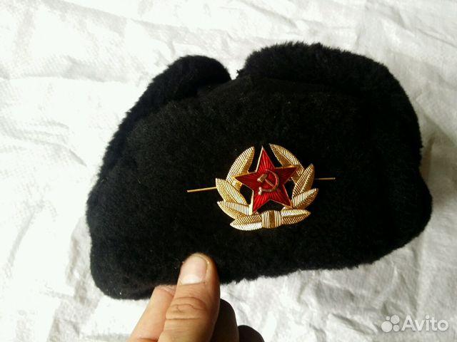 751b89279b4d Шапка-ушанка меховая солдата вмф СССР