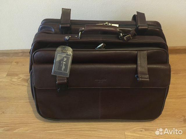 c45c0029b924 Дорожная сумка на колесах с портпледом Dr.Koffer | Festima.Ru ...
