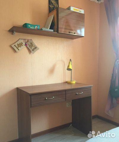 стол письменный с полками