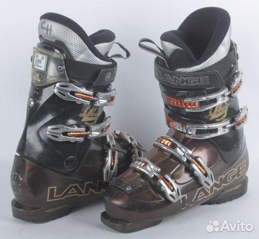 Горнолыжные ботинки Б У Lange Concept Black Brown купить в ... a22a515a11a