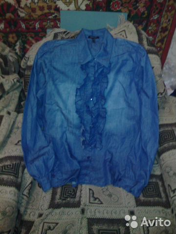 Джинсовая рубашка 89289278744 купить 1