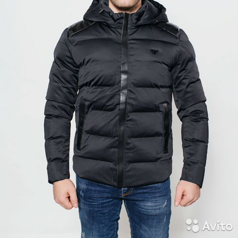 41144fb57b6f Новая зимняя мужская куртка Armani, все размеры   Festima.Ru ...