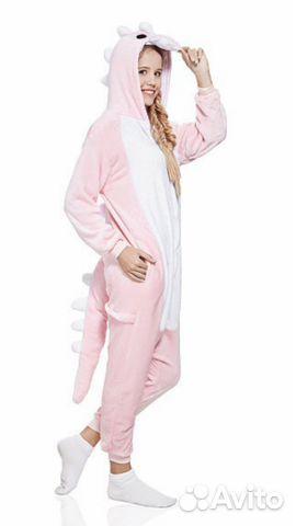 Пижама кигуруми новая дракон размер L  be0d647e6deaa