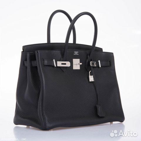 52115fe0c7bd Сумка Hermes Birkin 35 Black Phw купить в Москве на Avito ...