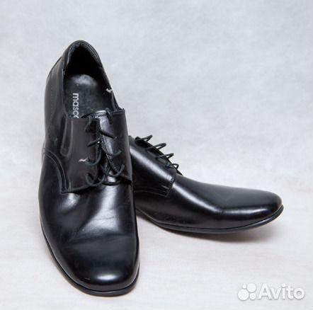 Туфли мужские кожанные 50 размера