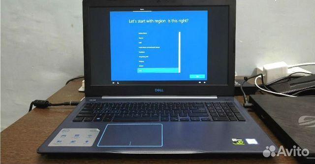 Новый игровой Dell G3 15/ 8Гб/ GTX 1060 6gb
