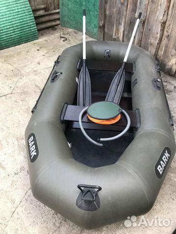 Лодка надувная Bark B-240C двухместная