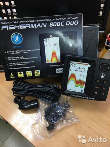 JJ-Connect Fisherman 800C Duo