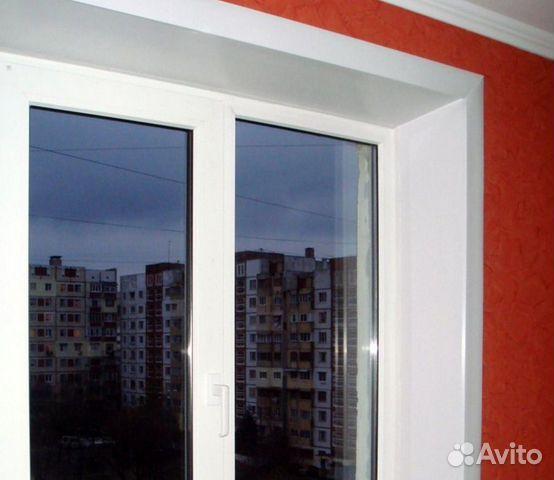 Пластиковый откос для окна