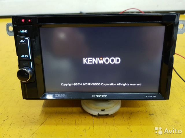 89625003353  Магнитола Kenwood Subaru Forester