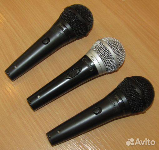 Проф вокальные микрофоны Shure PG48 - 58 3шт новые 89128899109 купить 10