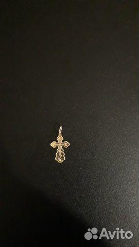 Крестик золотой 89216328234 купить 3