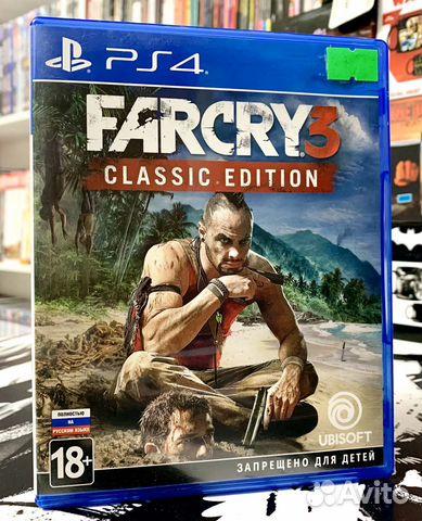 Igra Ps4 Far Cry 3 Classic Edition Kupit V Murmanskoj Oblasti Na Avito Obyavleniya Na Sajte Avito