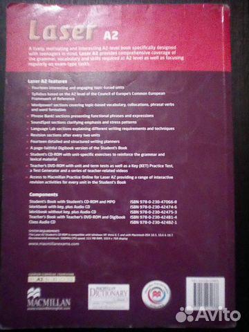 Учебник по английскому Laser A2 89178228515 купить 2