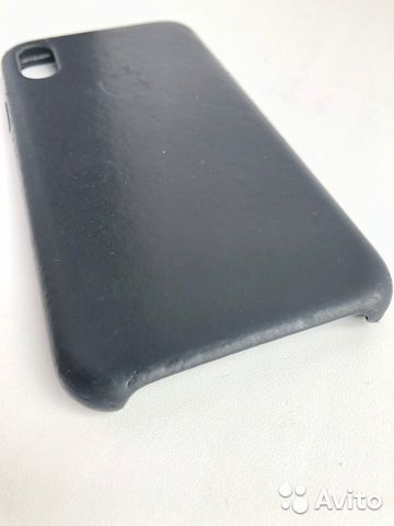 Кожаный чехол для iPhone X, Black. Оригинал 89226777659 купить 2