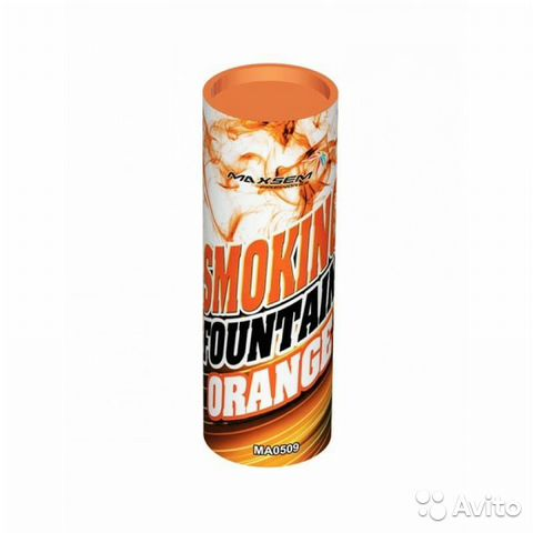Цветной дым оранжевый 89625863668 купить 1