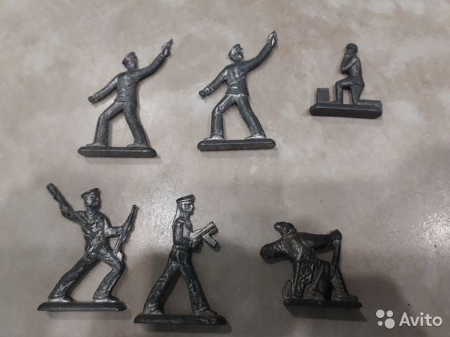 Солдатики оловянные СССР  89083118641 купить 1