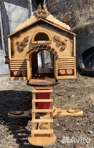 Деревянный домик 89247849336 купить 1