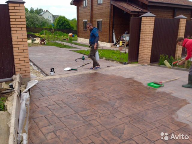 декоративный бетон пенза