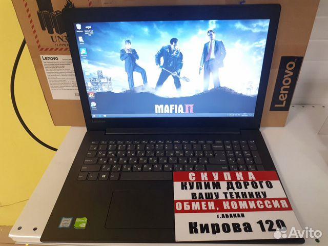 89503079406 Ноутбук для работы и игр (К120)