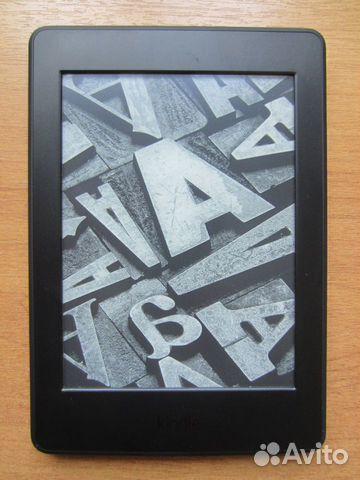 89025069832 Amazon Kindle Paperwhite 3 черная (подсветка)
