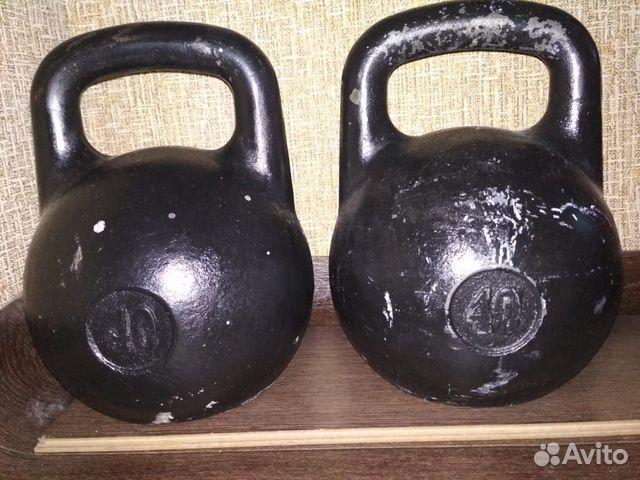 Гири 40 кг 2шт  89080140006 купить 7