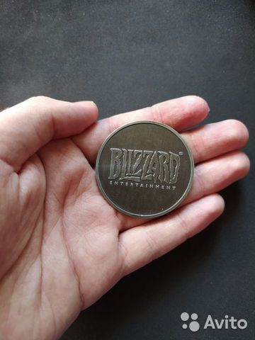 Монета Overwatch за предзаказ  89991502489 купить 2