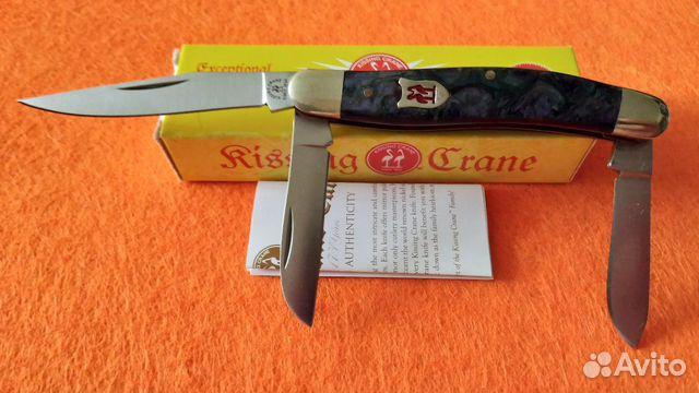 Нож Kissing Crane Trapper Since 1834  купить 1