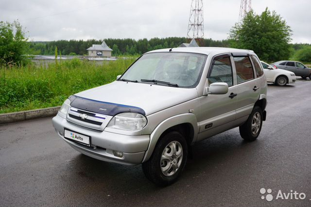 Chevrolet Niva 1.7МТ, 2004, 150000км
