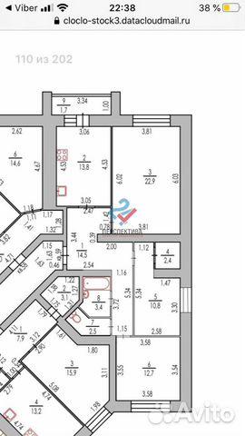 3-к квартира, 82 м², 5/8 эт.  89536436923 купить 10