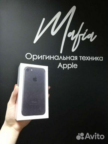 iPhone 7-128 Black Matte