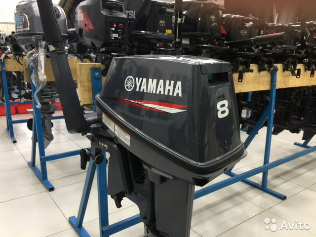 Лодочный мотор Yamaha 8 fmhs Б/У  88006002714 купить 1