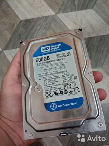 Жесткий диск wd blue 500gb идеал 7200об. для игр и  89524925866 купить 1