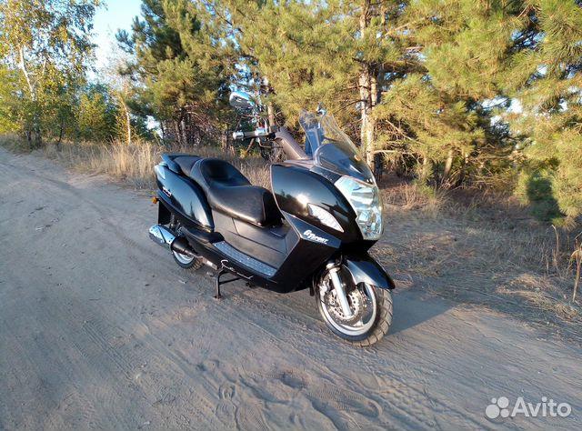 Макси скутер Yiben Vanguard 150  89885612079 купить 1
