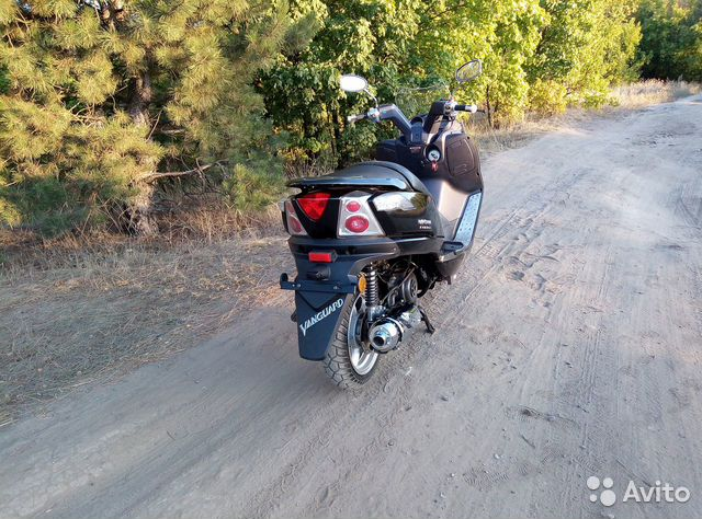 Макси скутер Yiben Vanguard 150  89885612079 купить 7