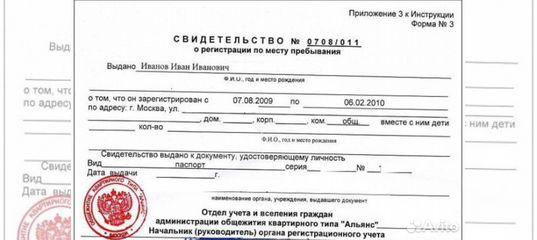 Временная регистрация истринский район срок оформления патента на работу в рф