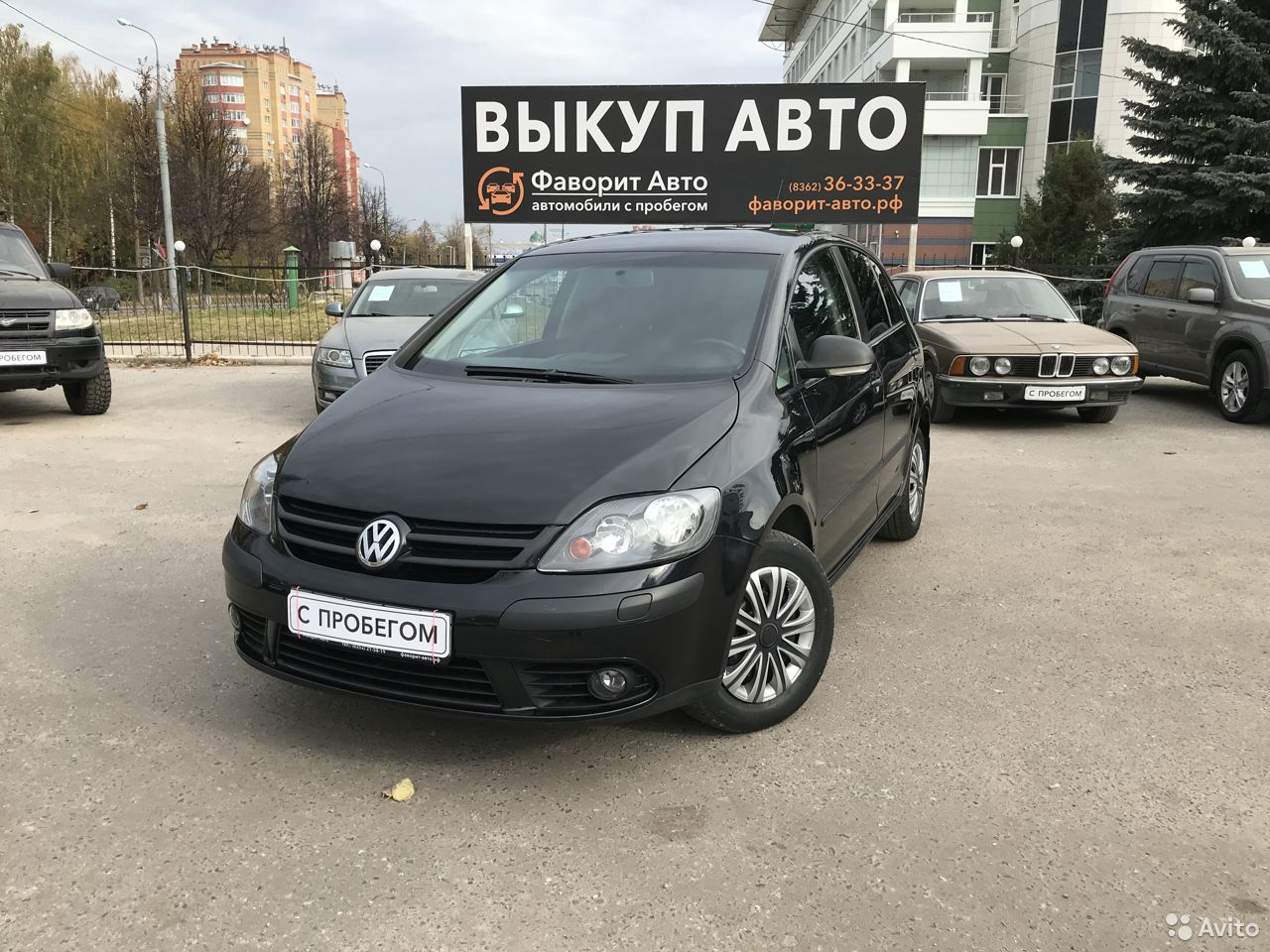 Volkswagen Golf Plus, 2007  89677563337 купить 1