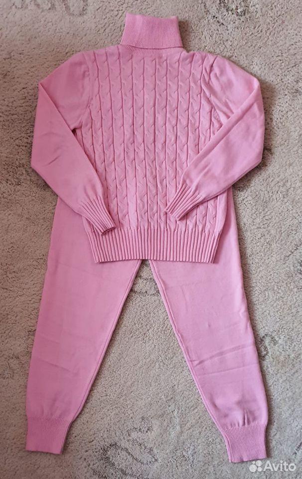 Трикотажный костюм женский новый  89002020556 купить 1