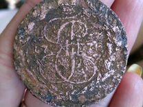 Монета Екатерины 2 1771 год