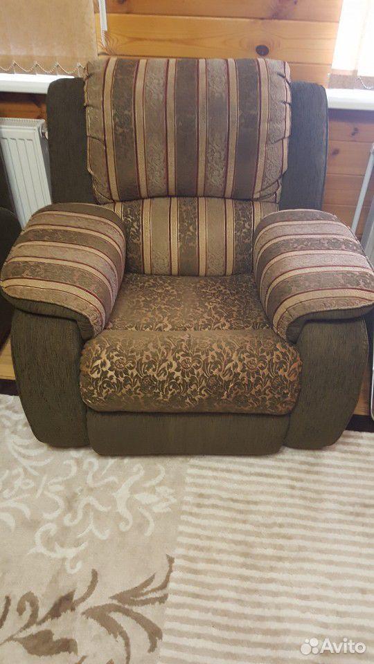 Диван и кресло раскладное  89105008692 купить 2