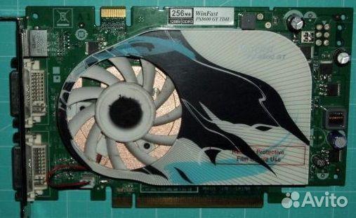 Видеокарта GeForce px-8600gt-tdh  89658774817 купить 1