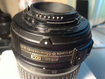 Объектив Nikon 18-55mm на запчасти