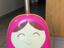 Самокат-чемодан детский Zinc Flyte Panda