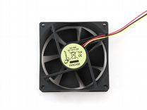 Вентиляторы Gembird fancase 80x80x25 втулка 3 pin