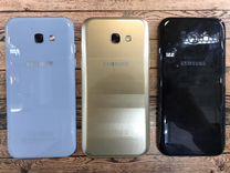 SAMSUNG A5 (2017) NFC Black Gold гарантия