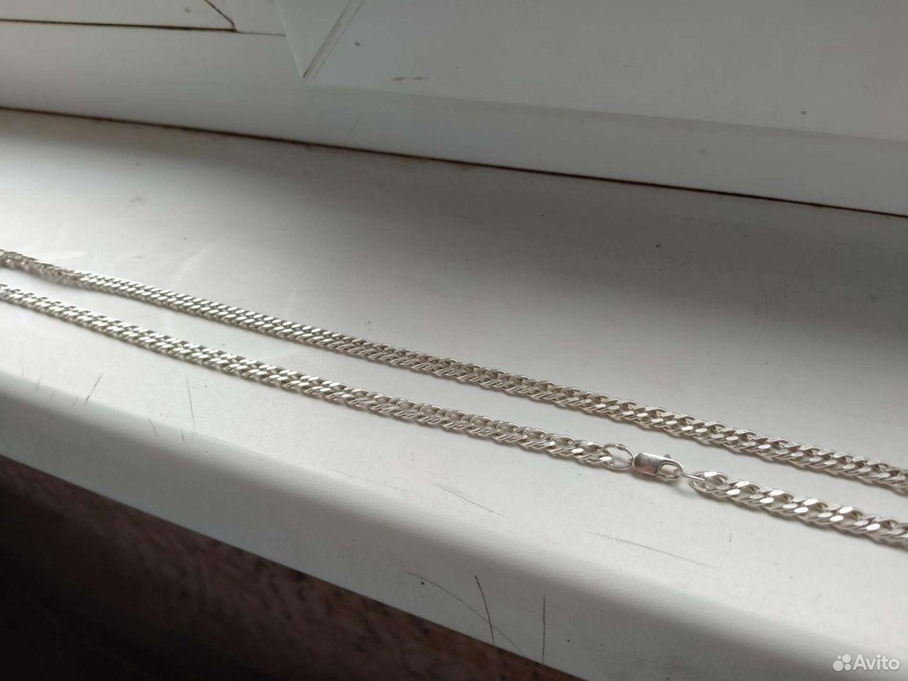 Серебряная цепь  89605431786 купить 2