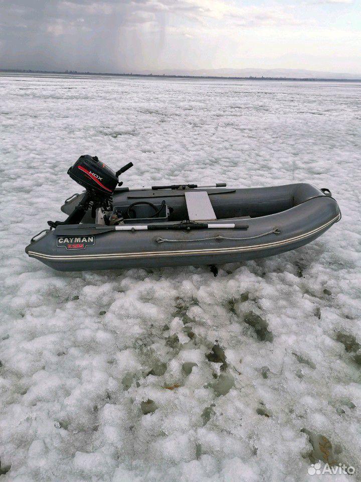 Лодка пвх-285. Матор HDX-5  89681480167 купить 2