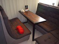 Журнальный столик в стиле loft